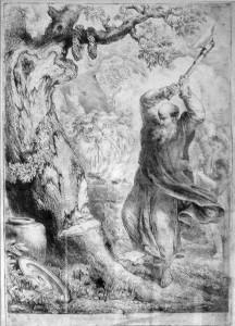 Bonifacas kerta šventąjį ąžuolą