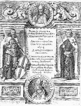 Petras Dusburgietis Prūsijos žemės kronika