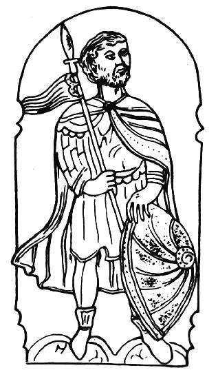 Įsivaizduojamas Vaišvilko XVI-XVII a. atvaizdas