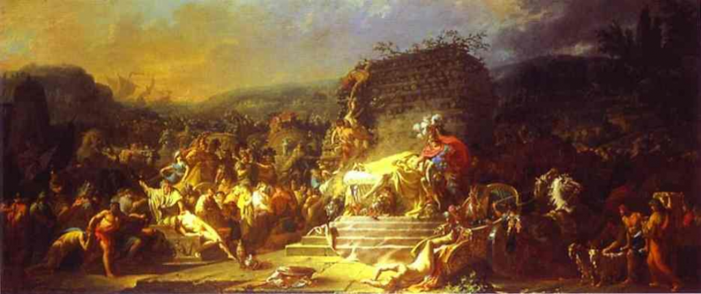 Patroklio laidotuvės